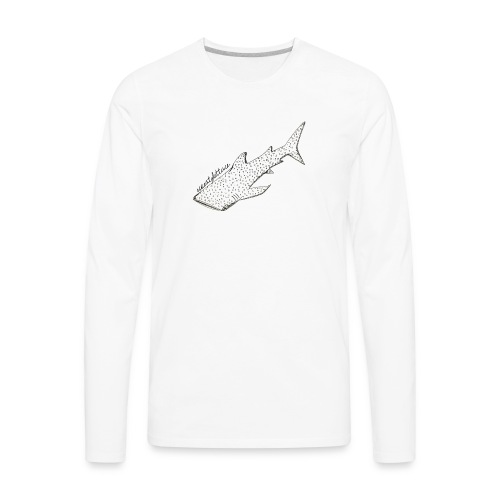 Whaleshark - Men's Premium Long Sleeve T-Shirt