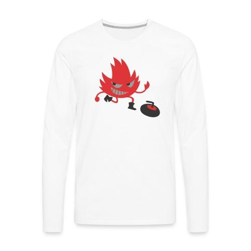 Leif Curling - Men's Premium Long Sleeve T-Shirt