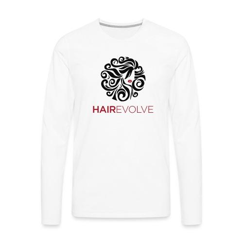 Hair Evolve Fan T-Shirt - Men's Premium Long Sleeve T-Shirt