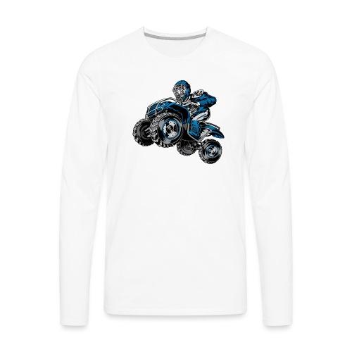 Yamaha ATV Shirt - Men's Premium Long Sleeve T-Shirt