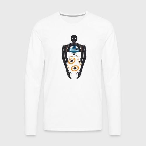 StarWars Rogue One FanArt - Men's Premium Long Sleeve T-Shirt