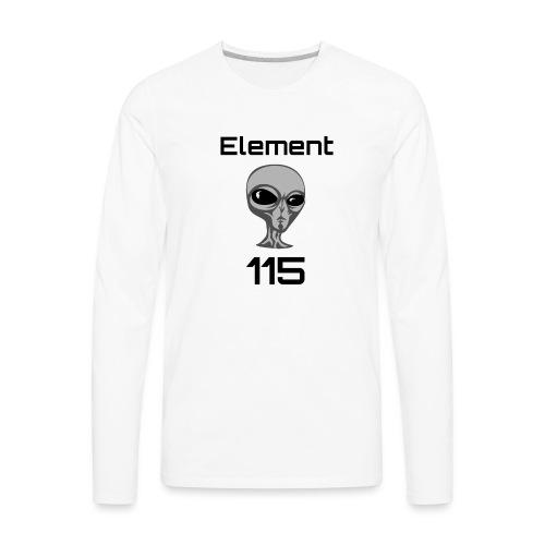 Element 115 - Men's Premium Long Sleeve T-Shirt