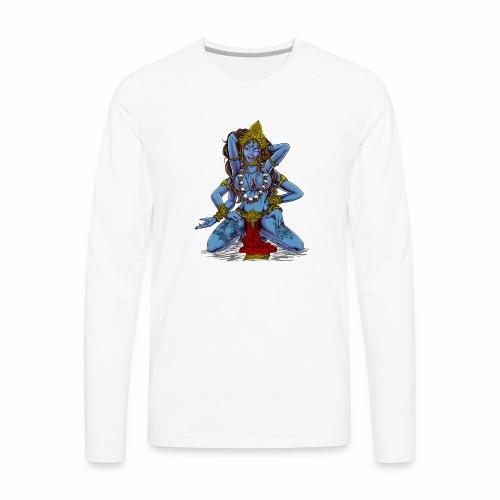 Sexy Hindu Goddess Kali - Men's Premium Long Sleeve T-Shirt