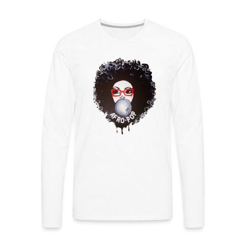 Afro pop_ - Men's Premium Long Sleeve T-Shirt