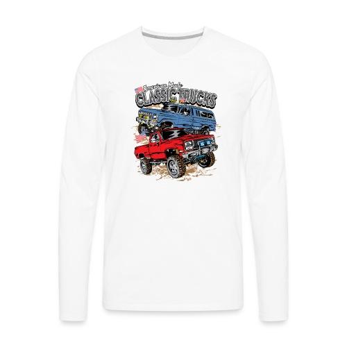 American Made Classic Trucks - Men's Premium Long Sleeve T-Shirt