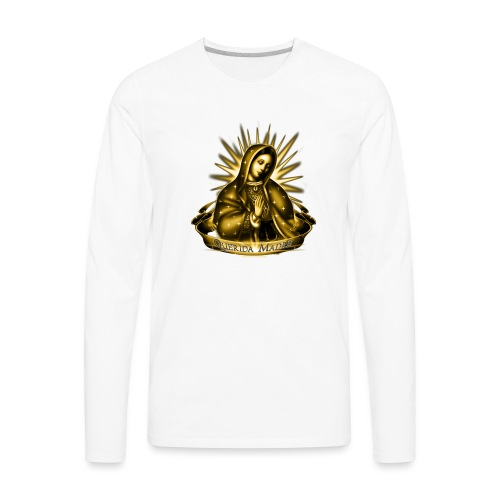 Querida Madre by RollinLow - Men's Premium Long Sleeve T-Shirt
