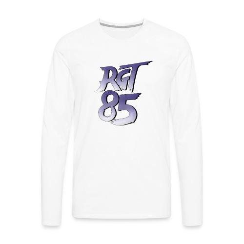 RGT 85 Logo - Men's Premium Long Sleeve T-Shirt