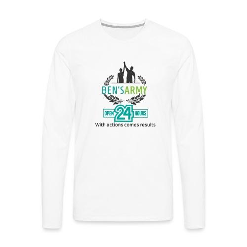 Brand designs - Men's Premium Long Sleeve T-Shirt