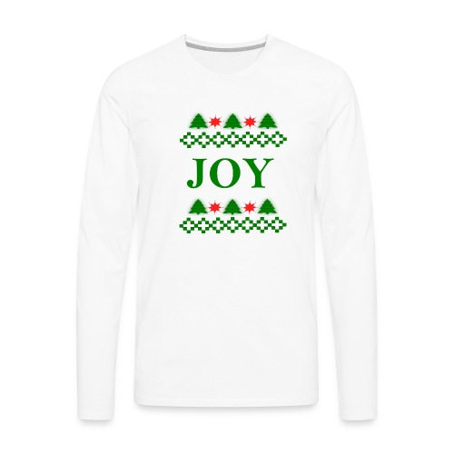 Christmas Joy - Men's Premium Long Sleeve T-Shirt
