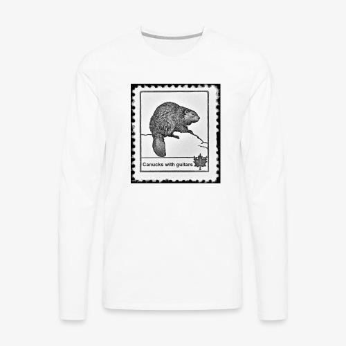 Vintage Stamp - Men's Premium Long Sleeve T-Shirt