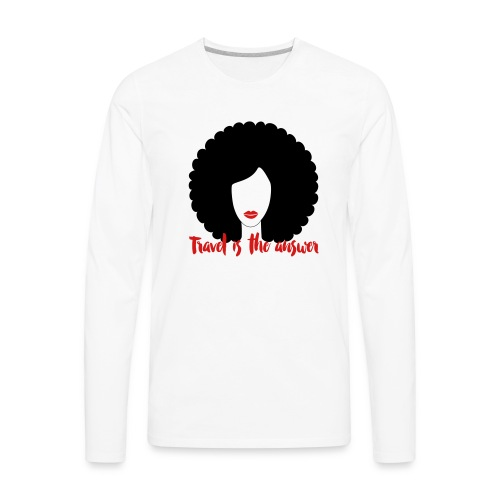 Travel Tank shirt - Men's Premium Long Sleeve T-Shirt