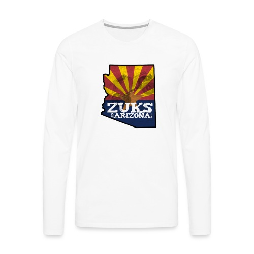 Zuks of Arizona Official Logo - Men's Premium Long Sleeve T-Shirt