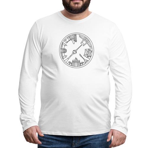 Berlin emblem - Men's Premium Long Sleeve T-Shirt