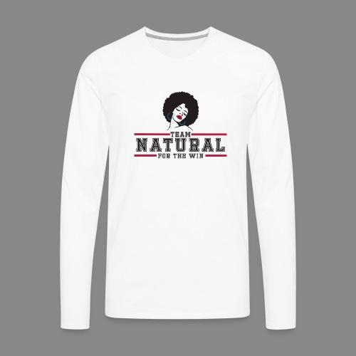 Team Natural FTW - Men's Premium Long Sleeve T-Shirt
