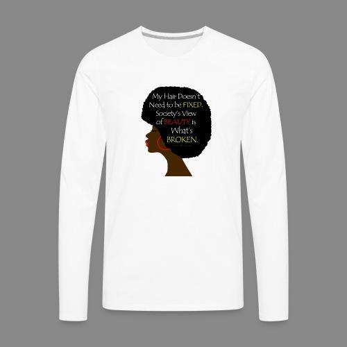 Beauty Perception - Men's Premium Long Sleeve T-Shirt