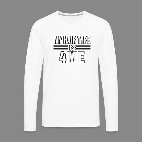 Hair Type 4ME - Men's Premium Long Sleeve T-Shirt