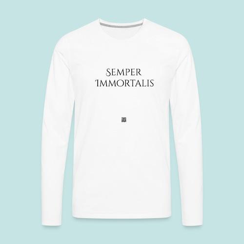 Semper Immortalis (black) - Men's Premium Long Sleeve T-Shirt