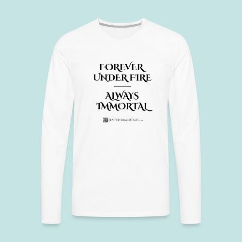 Always Immortal (black) - Men's Premium Long Sleeve T-Shirt