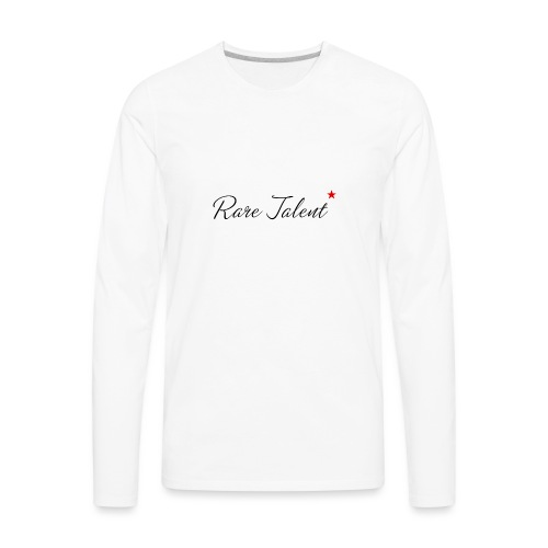 Rare Talent - Men's Premium Long Sleeve T-Shirt
