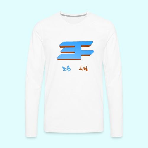 Crush LOGO Tee - Men's Premium Long Sleeve T-Shirt