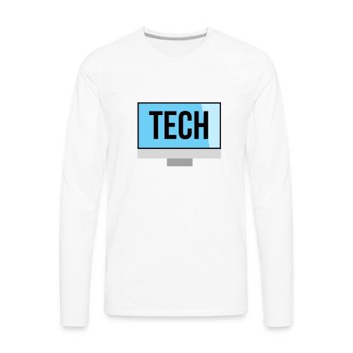 Tech - Men's Premium Long Sleeve T-Shirt