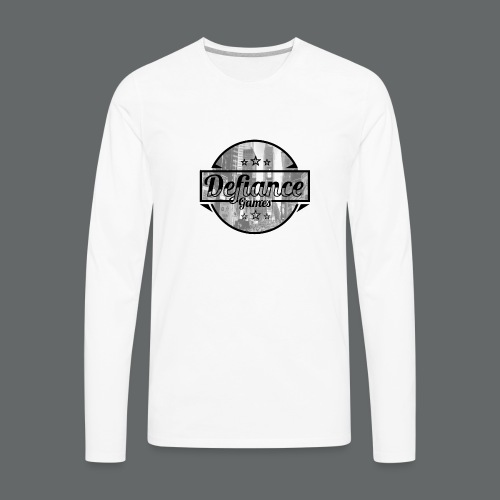 Defiance Games Street Logo Shirt - Men's Premium Long Sleeve T-Shirt