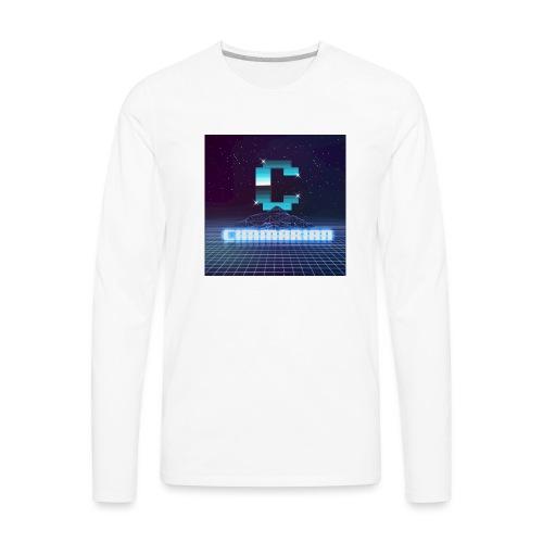 The killer 80s logo - Men's Premium Long Sleeve T-Shirt