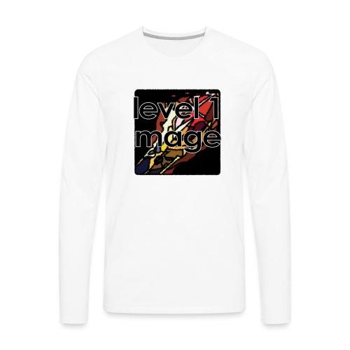 Warcraft Baby: Level 1 Mage - Men's Premium Long Sleeve T-Shirt