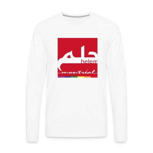 Helem Montreal Logo - Men's Premium Long Sleeve T-Shirt