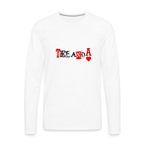 TeeAndA - Men's Premium Long Sleeve T-Shirt