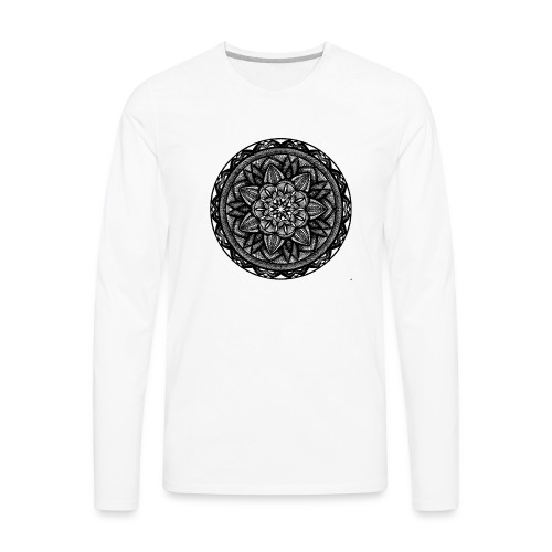 Circle No.2 - Men's Premium Long Sleeve T-Shirt