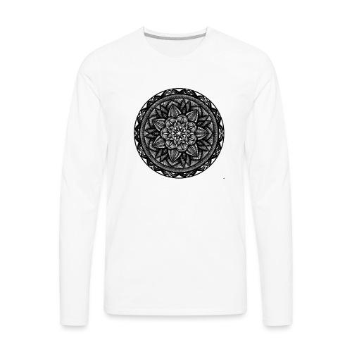 Circle No.2 - Men's Premium Long Sleeve T-Shirt