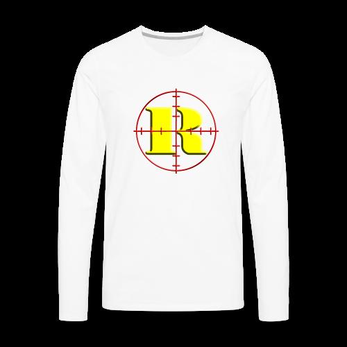 Kids Remington Logo - Men's Premium Long Sleeve T-Shirt