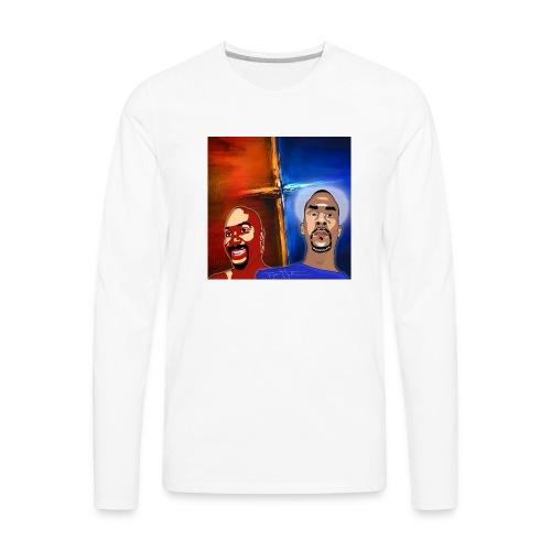 pretty tony galaxy 7 edge case - Men's Premium Long Sleeve T-Shirt