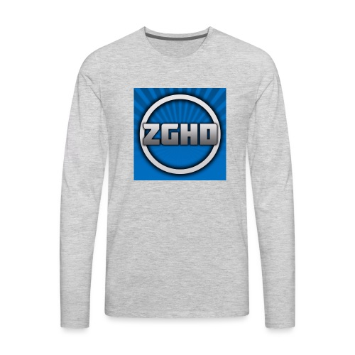 ZedGamesHD - Men's Premium Long Sleeve T-Shirt