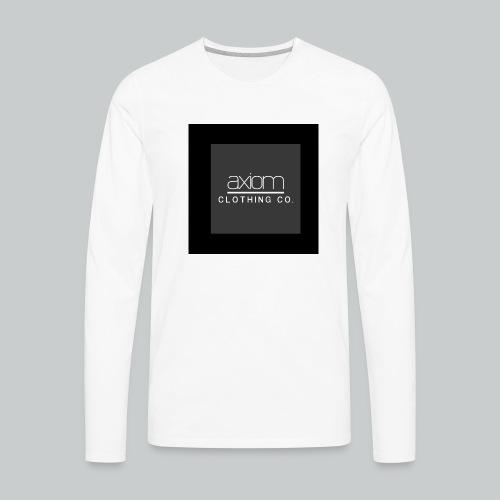 axiom - Men's Premium Long Sleeve T-Shirt