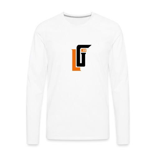 Lil Gucci Logo Hoodie - Mens - Men's Premium Long Sleeve T-Shirt