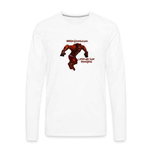 Munkee Kissin Dunkee's - Munkee - Men's Premium Long Sleeve T-Shirt