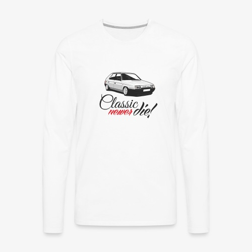 Favorit classic newer die - Men's Premium Long Sleeve T-Shirt