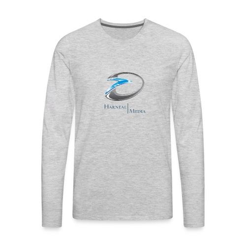 Harneal Media Logo Products - Men's Premium Long Sleeve T-Shirt