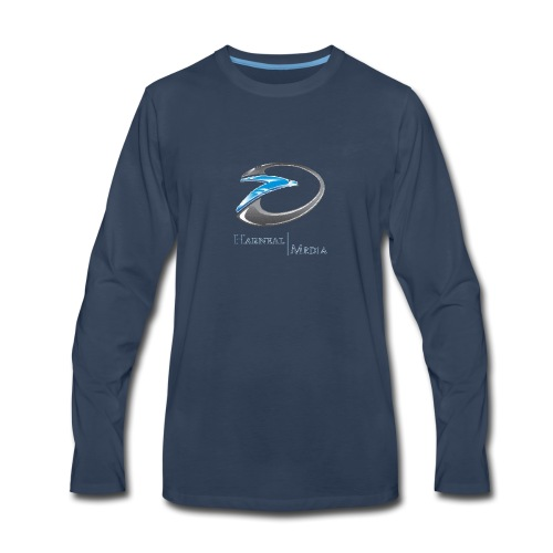 Harneal Media Logo Products - Men's Premium Long Sleeve T-Shirt