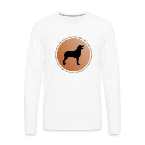 Rottweiler - Men's Premium Long Sleeve T-Shirt