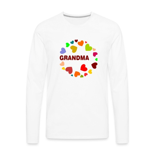 Grandma - Men's Premium Long Sleeve T-Shirt
