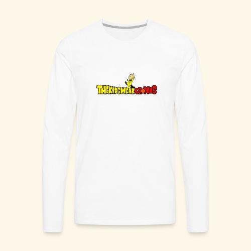 KWC Limited Edition Nostalgia Tee (DBZ) - Men's Premium Long Sleeve T-Shirt