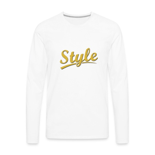 Step in style merchandise - Men's Premium Long Sleeve T-Shirt