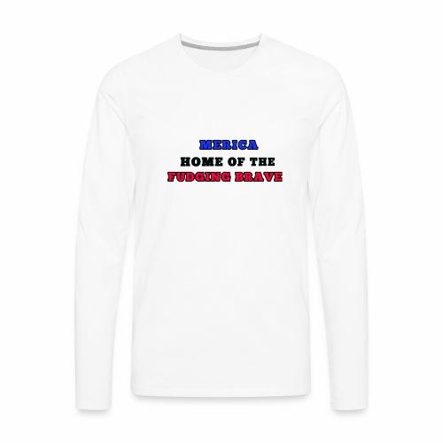 MERICA - Men's Premium Long Sleeve T-Shirt