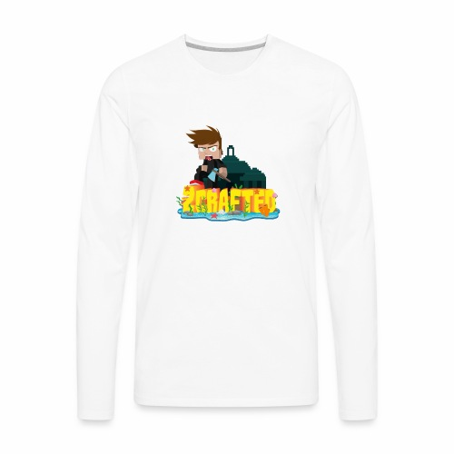2Crafted Brand - Men's Premium Long Sleeve T-Shirt