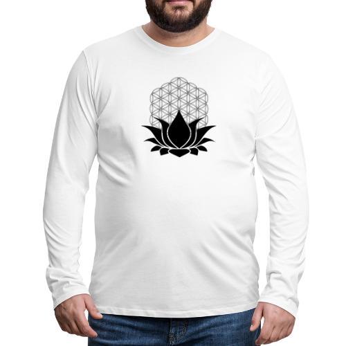 Sacred Lotus - Men's Premium Long Sleeve T-Shirt
