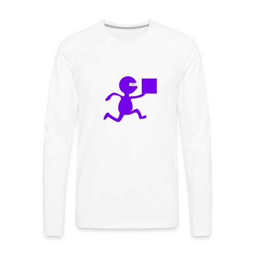 FedEx Ninja - Men's Premium Long Sleeve T-Shirt