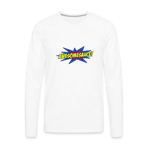 Awesomesauce - Men's Premium Long Sleeve T-Shirt
